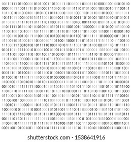 Random Hex and binary code, Isolated on white for you web, internet data background