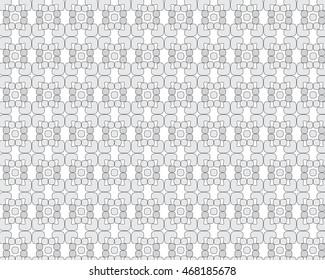 Random Shapes Pattern