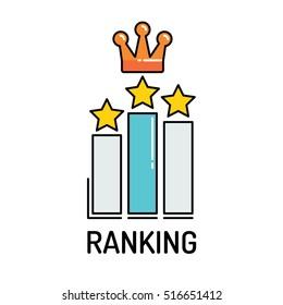 RANKING Line icon