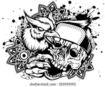 Rap skull