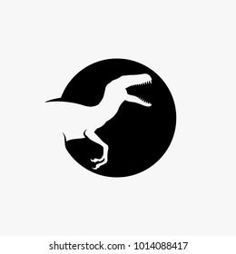 Raptor logo design inspiration, dinosaru logo design