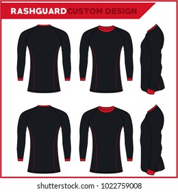 Rash Guards Template Design