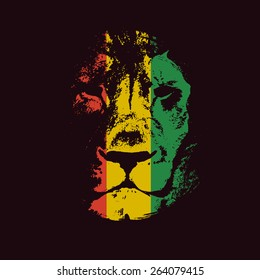 Rasta background. Vector illustration. Vector background.