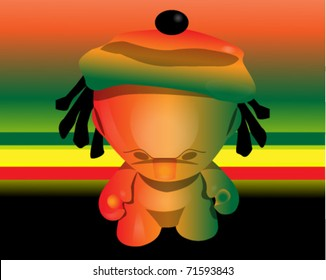 Rasta little lion
