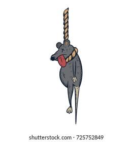 rat death illustration