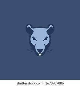 Rat logo vector design templates