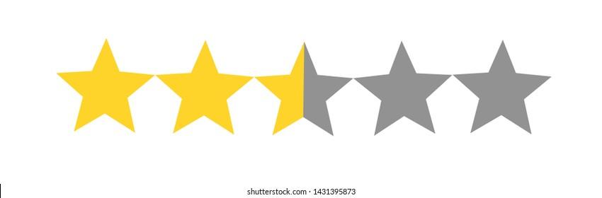 Two+star+rating Stock Vectors, Images & Vector Art | Shutterstock
