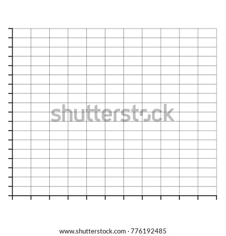 ratings line graph line chart graph stock vector royalty free
