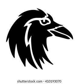 Raven head.
