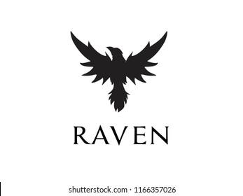 raven logo icon designs