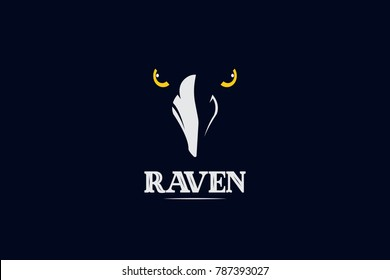 raven vector logo