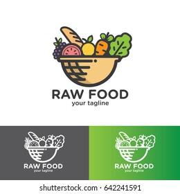 Raw Food Logo Design