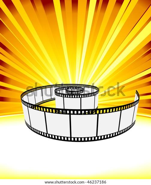 ray background film strip vector illustration stock vector royalty free 46237186 shutterstock