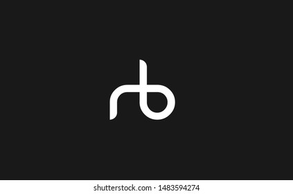 rb, br Letter Logo, Icon, Vector element design