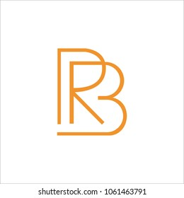 rb initial logo design