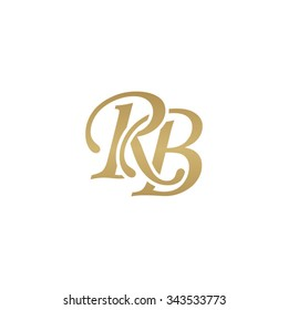 RB initial monogram logo