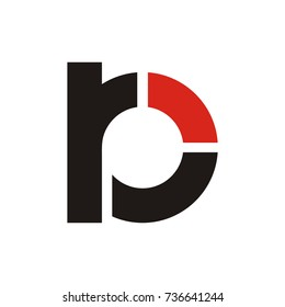 rb logo initial letter design template vector