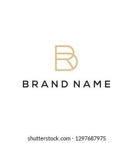 RB monogram logo design