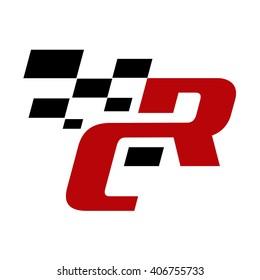 RC initial logo template