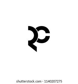 rc letter vector logo