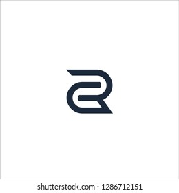 RC Logo Design Modern