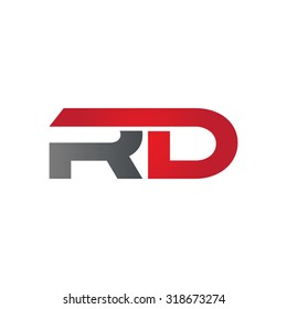 RD company group linked letter logo