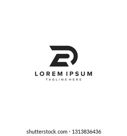 RD  letter RD  initial logo vector icon