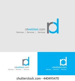 RD Typographic Logo