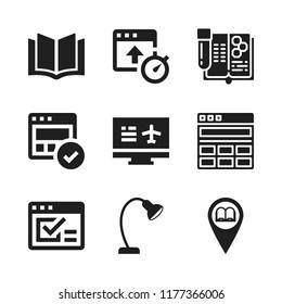reading pictogram images stock photos vectors shutterstock