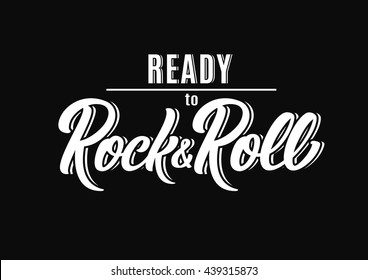 Ready to Rock and Roll poster.
