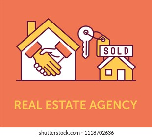 Real Estate Agency Icons