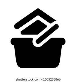 real estate basket icon - From property, commercial house and real estate icons, mortgage icons