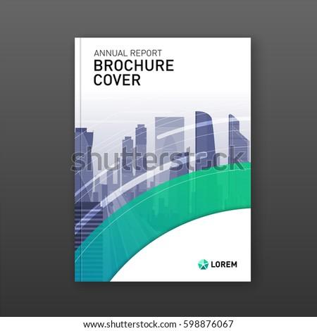 real estate brochure design business brochure stock vector royalty