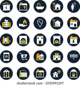 Real Estate and building Isolated Vector icon which can easily modify or edit