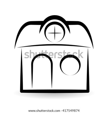 Real Estate Design Home Concept Property Stock Vector