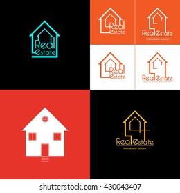Real Estate house set