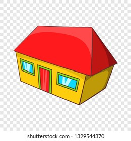 Real estate icon in cartoon style isolated on background for any web design
