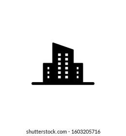 Real estate icon template. Vector illustration