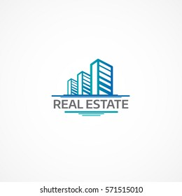 Real Estate logo.