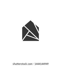 Real Estate Logo Building Modern Estate Property Investment Apartment Residential Urban Sale Financial City Skyscraper Residence Deal Broker Icon Symbol
