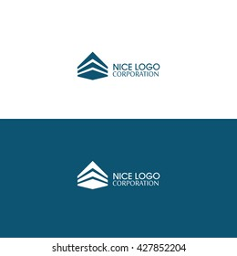 Real Estate Logo. Creative Housing/Construction/Flipping/Architecture Company Logo Icon Concept Vector Illustration