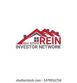 Real estate logo design vectore