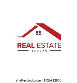 Real estate logo. Real estate logo icon vector template