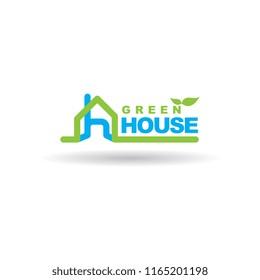real estate logo minimalis .house, home logo for your brand name.
