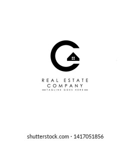 Real Estate logo template with minimalis style.