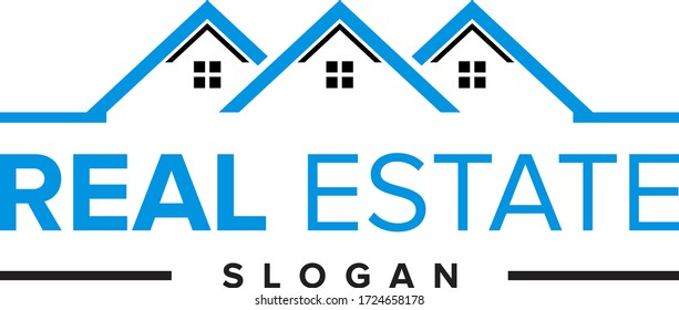 Real Estate logo,Real Estate, Building and Construction Logo Vector Design Eps 10
