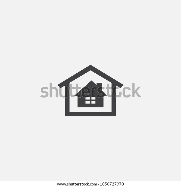 real estate office icon. Simple element illustration. real estate office symbol design from Real Estate collection. Can be used for web and mobile.