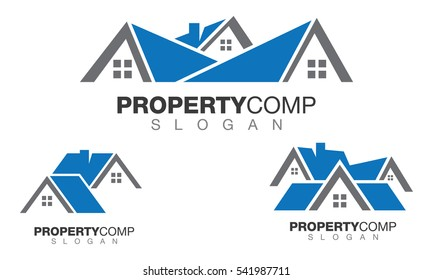 real estate property and construction logo design for business corporate sign vector logo