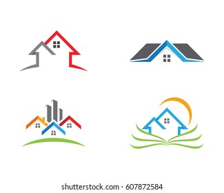 Real Estate , Property and Construction Logo design