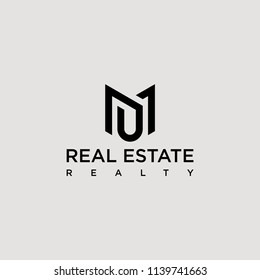real estate realty properties logo